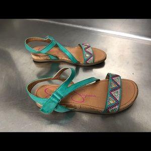 Jessica Simpson Girl's Jurnee Sandal - Size  5